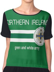 Euro 2016 Football - Northern Ireland (Green) Chiffon Top