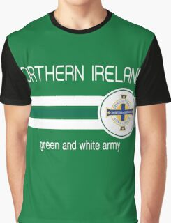 Euro 2016 Football - Northern Ireland (Green) Graphic T-Shirt
