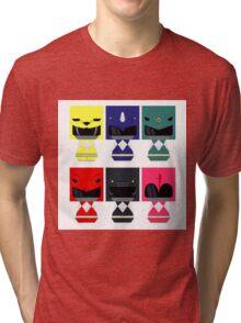 six ranger danbo Tri-blend T-Shirt