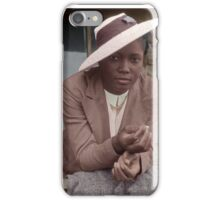 Woman in the Great Depression iPhone Case/Skin