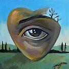 heART - acrylics on canvas by painterflipper