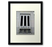 Gate 6 Framed Print