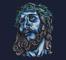 Blue Jesus  by Aarron Laidig