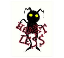 heartless 2 Art Print