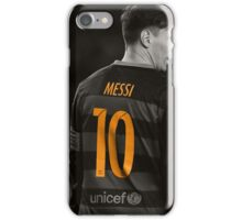 Lionel Messi 10 - Barcelona iPhone Case/Skin