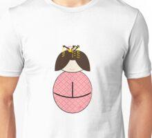 geisha kokeshi doll Japanese Unisex T-Shirt