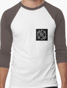 La dispute logo (black bkg with white logo) Men's Baseball ¾ T-Shirt
