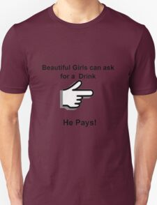 Drink and Pay T-Shirt