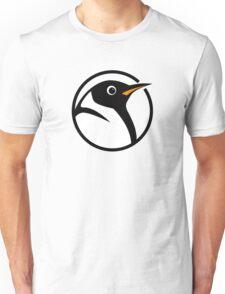 linux penguin circle logo Unisex T-Shirt