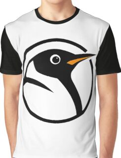 linux penguin circle logo Graphic T-Shirt