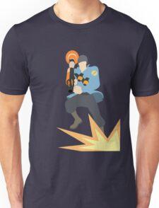TF2 - BLU Rocket Jump T-Shirt