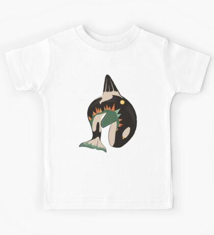 World on the Whale's Back Kids Tee