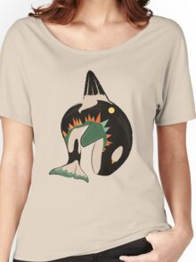World on the Whale's Back Women's Relaxed Fit T-Shirt