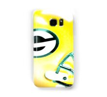 Green Bay Packers Helmet - Watercolor Samsung Galaxy Case/Skin