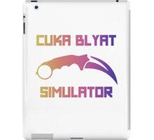Cyka Blyat Simulator - fade iPad Case/Skin