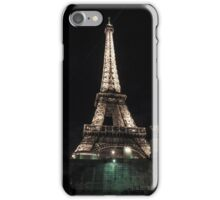 Eiffel Tower at Night - Paris iPhone Case/Skin