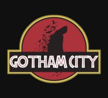 Gotham City meets Jurassic Park by G-Spark