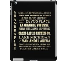 Grand Rapids Michigan Famous Landmarks iPad Case/Skin