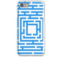 Abstract vector background with a maze. iPhone Case/Skin