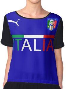 Euro 2016 Football - Italy Chiffon Top