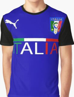 Euro 2016 Football - Italy Graphic T-Shirt