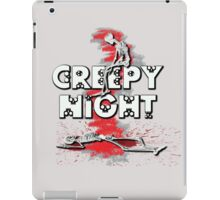 Creepy Night :D iPad Case/Skin