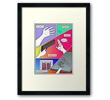 Colour of Emotion Framed Print