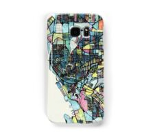 Abstract Map of Buffalo NY Samsung Galaxy Case/Skin