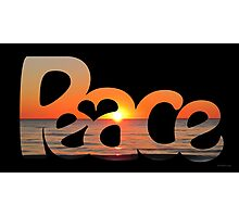 Peace Full 6 Photographic Print