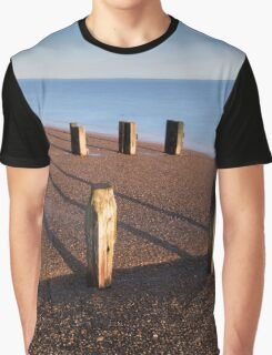 Bawdsey Groynes Graphic T-Shirt