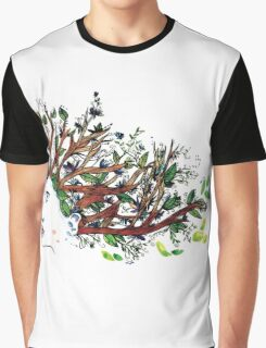 the man who have a tree in his mind Graphic T-Shirt