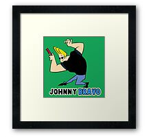 johnny_bravo Framed Print