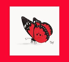 Red Butterfly Throw Pillow by Kevin Dellinger