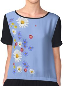 Flowers, wildflowers Chiffon Top