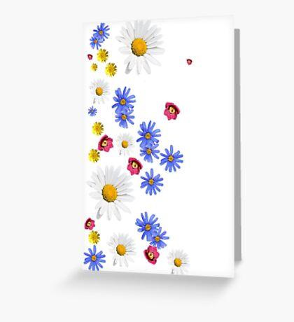 Flowers, wildflowers Greeting Card