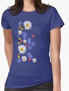 Flowers, wildflowers Womens Fitted T-Shirt