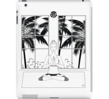 Yoga BW iPad Case/Skin