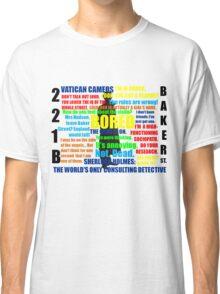 BBC Sherlock Quotes Classic T-Shirt