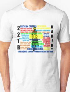 BBC Sherlock Quotes T-Shirt