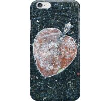 Frosted fallen leaf iPhone Case/Skin
