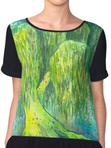 Mother's Willow Chiffon Top