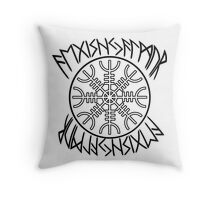 Aegishjalmur - The Helm of Terror Throw Pillow