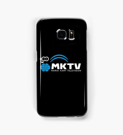 Mario Kart Television (White) Samsung Galaxy Case/Skin