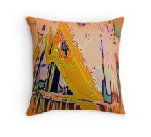Pastels Abstract Cushion Throw Pillow