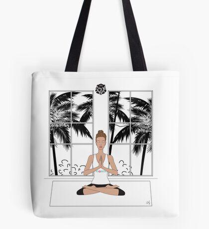 Yoga Girl.... Tote Bag