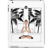 Yoga Girl.... iPad Case/Skin