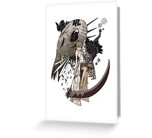 Soul Eater Greeting Card