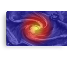 Blue Velvet Abstract- Art + Products Design  Canvas Print