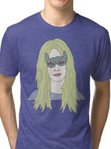 strange girl Tri-blend T-Shirt