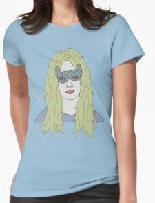 strange girl Womens Fitted T-Shirt